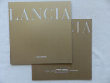 Lancia Phedra - Prospekt + Preisliste Brochure 09.2002