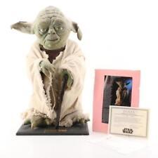 "1994 Illusive Concepts Life Size ""Yoda"" Prop Sculpture by Mario Chiodo W/ SW COA"