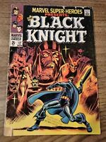 MARVEL SUPER-HEROES #17 (1968) - ORIGIN BLACK KNIGHT/EBONY BLADE G/VG MCU KEY!
