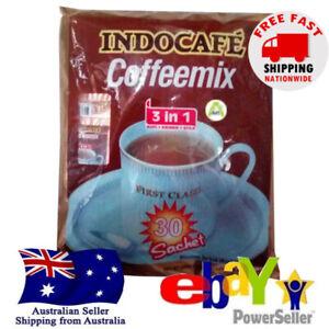 Indocafe Coffeemix 3in1 Sugar Creamer Indonesian Instant Kopi 30sct x20g Halal