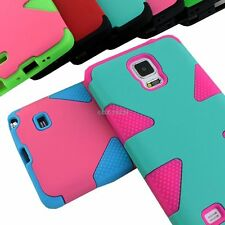 For Samsung Galaxy Note 4 Phone Case Dynamic Tuff Impact Shockproof Hybrid Armor