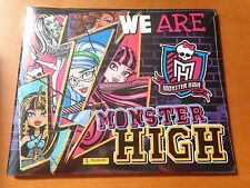 ALBUM FIGURINE PANINI WE ARE MONSTER HIGH  EDIZIONE FRANCIA SIGILLATO SEALED
