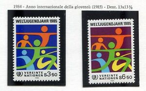19334) United Nations (Vienna) 1984 MNH Int. Youth Year