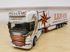 Wsi Scania R topline Lex Us 1/50 Truck in original box