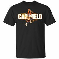 Carmelo Anthony T-Shirt New York Knicks #7 Tee Shirt Short Sleeve S-5XL