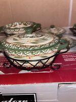 Temptations By Tara Old World 9 Oz Individual Casserole Dish Set of 4