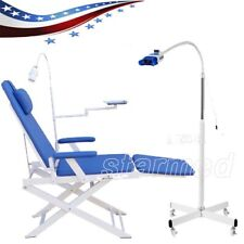 Dental Folding Chair Gm C004 With Led Lightteeth Whitening Lamp Tooth Bleaching
