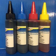 PRINTER REFILL INK FITS EPSON ECO TANK ET L130 L220 L360 L365 L455 L555 L1300