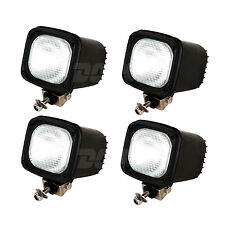 4pcs 55w 24v Xenon HID 4inch Work Light SUV Truck Offroad Boat Lamp Flood Beam