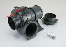 "Bilge Blower for Boat TMC 150 m3 per hour / 90 cfm 12 volt 76mm (3"") Intake pipe"