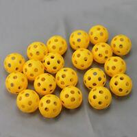 20x Airballs Luftbälle Übungsbälle Golfball Training ball plastik für Z V KSF