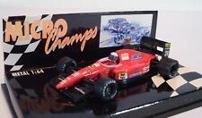 Microchamps PMA 1/64 Formel 1 Fiat Ferrari Fahrer Capelli OVP #840