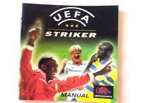 57848 Instruction Booklet - UEFA Striker - Sega Dreamcast (1999) 810-0057-05