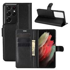 Handyhülle für Samsung Galaxy S21 Ultra 5G Hülle Handy Tasche Flip Case Etui TPU