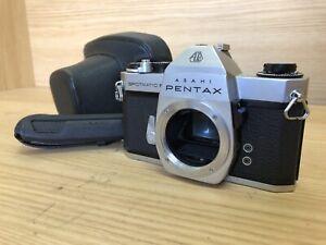 *Exc+4 : Read* Pentax Spotmatic F SPF 35mm SLR Film Camera Body w/ Case Japan