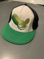 DJ Deadmau5 Flat Bill Hat Snapback Cap Green Black White Trucker Deadmouse Mesh