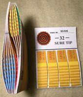 One Dozen #100 Sure Tip Board Games Raffle Tickets Jar Tickets Free Shipping USA