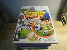 Family Party 30 Great Games Nintendo Wii  Manual included FREEPOST