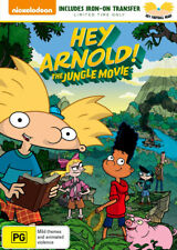 Hey Arnold!: The Jungle Movie (Includes Iron-On Transfer) - DVD (NEW & SEALED)
