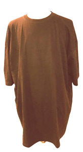 BIG and TALL Mens Plain T Shirt HEAVYWEIGHT Shirts Short Sleeve Tee SMALL - 10XL