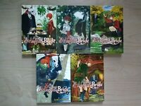 The Ancient Magus' Bride 1-5, Lot of 5 Seinen Manga, English, 13+, Kore Yamazaki