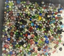 Wholesale Mixed Lot of New Assorted Glass Beads, Tiny-Small appox. 1mm-4mm, #TS1