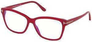 Occhiali da Vista Tom Ford FT 5597-B BLUE BLOCK Fuchsia 56/15/140 unisex