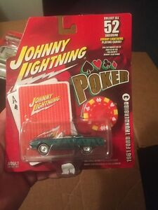 Johnny Lightning Poker Series 1961 Ford Thunderbird #3