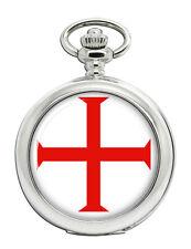 Knights Templar Cross Pocket Watch