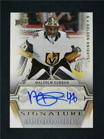 2019-20 Upper Deck Series 1 Signature Sensations Auto# SS-MS Malcolm Subban