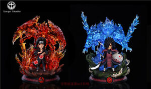 Surge Studio Naruto Uchiha Itachi UchihaMadara Resin Figure Toy Collection Model