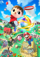 Super Smash Brothers - Huge Wall  Poster  15 in x 24 in ( Fast Shipping )