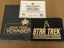 Star Trek Original Series Gold Foil Stamp & Star Trek Voyager Stamp set