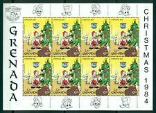 GRENADA*1984* M/Sheet (1X8 stamps)*MNH** Donald Duck's Christmas - Mi.No 1340KB