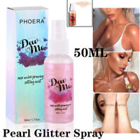 Liquid Highlighter Shimmer Cream Face Body Highlight Illuminator Glow Bronzer UK