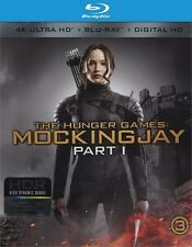 THE HUNGER GAMES: MOCKINGJAY PART 1****4K ULTRA HD BLU-RAY****REGION FREE****NEW