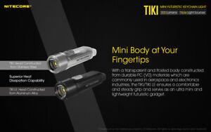 NITECORE TIKI  300 Lumen UV/high CRI LED Keychain Rechargeable Flashlight