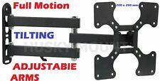 24 32 39 40 Inch Full Motion Tilt Swivel TV Wall Mount Bracket HUSKY LED LCD