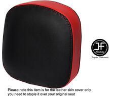 Rojo y Negro personalizado de vinilo cabe Honda F6C Valkyrie respaldo 96-05 Cubierta de asiento solamente