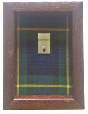 Small Gordon Highlanders Regimental Tartan Medal Display Case For 2 Medals