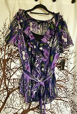 AGB Brand new with tags purple dressy top womens plus size 1x