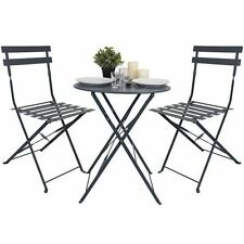 Steel Up to 2 Seats Garden & Patio Furniture Sets