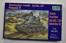 Lot 11-323 * UM 1:72 Scale kit No. 347, Tank Hunter Sd.kfz. 139 Marder III