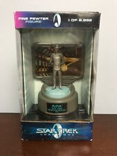 Vintage Authentic Star Trek Champions Fine Pewter Figure Captain Kirk