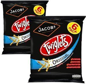 Twiglets Original 6 Pack x 2 (12 Bags)