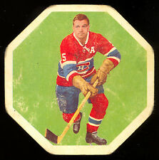 1961-62 YORK PEANUT BUTTER YELLOW BACKS #28 BERNIE GEOFFRION MONTREAL CANADIENS