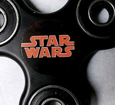 Star Wars Movie logo Fidget Spinner Black n Red Free Shipping In Stock US UNIQUE