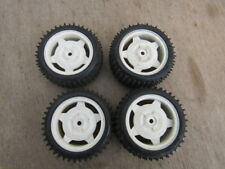 Tamiya TL01B BAJA CHAMP FRONT AND REAR WHEELS AND TIRES 1/10 scale