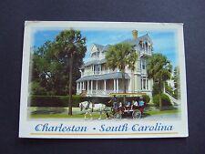 25 East Battery, Charleston, South Carolina, USA. Postcard. Horse & Carriage