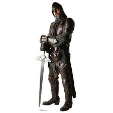 KNIGHT IN ARMOR Medieval Sword Hero CARDBOARD CUTOUT Standee Standup Poster Prop